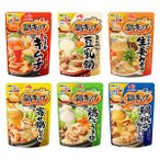 【お買い得セット】味の素 鍋キューブ6種お楽しみセット