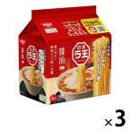 日清食品 日清ラ王 醤油 5食パック 3個