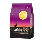 ルナ(LUNA)成猫 かつお節と小えび&ほたて味ビッツ添え 国産 720g(小分け180g×4袋)ペットライン キャットフード ドライ