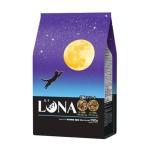 ルナ(LUNA)猫用 成猫 かつお節&ほたて味とチキン味ビッツ添え 国産 720g(小分け 180g×4袋)ペットライン