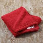 アウトレット 今治タオル フェイスタオル 極甘撚りふわふわタオル レッド (赤) 1枚 ロハコ(LOHACO)オリジナル