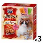 銀のスプーン 三ツ星グルメ お魚味クリーム お魚・ささみレシピ 3種のアソート 国産 180g(18g×10袋)3個 キャットフード 猫