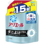アリエールジェル ダニよけプラス 詰め替え 超特大 1360g 1個 洗濯洗剤 抗菌 P&G