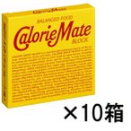 カロリーメイトブロック チョコレート味 1セット(10箱入) 大塚製薬 栄養補助食品