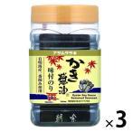 アサムラサキ かき醤油味付のり 8切60枚 1セット(3個)