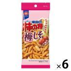 亀田製菓 亀田の柿の種梅しそ 60g パーソナル 1セット(6袋)