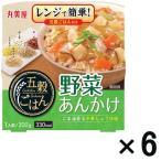アウトレット丸美屋 五穀ごはん 野菜あんかけ 330kcal レンジ対応 1セット(300g×6個)