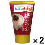 アウトレットマルコメ 料亭の味 梅かつおみそ 1セット(100g×2個)