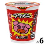 おやつカンパニー ブタメンとんこつ味 1セット(6個入)