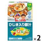 1歳から 1歳からの幼児食 ひじき入り豚汁 170g(85g×2
