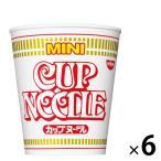 日清食品 カップヌードル ミニ 25051 1セット(6食)