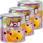 はごろもフーズ 朝からフルーツみつ豆 190g 1セット(3缶)