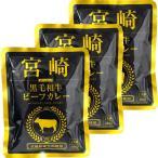 響 宮崎黒毛和牛ビーフカレー 160g 1セット(3個)