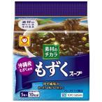 東洋水産 素材のチカラ 沖縄産もずくスープ 5食パック 1個
