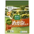東洋水産 素材のチカラ めかぶスープ 5食パック 1個