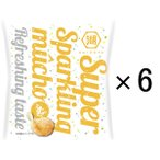 LOHACO限定湖池屋 Super Sparkling mucho(スーパースパークリングムーチョ) 1セット(6袋)