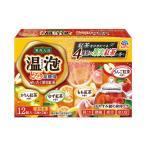 入浴剤 炭酸 温泉の素 温泡 ONPO ぜいたく果実紅茶 とろり炭酸湯 1箱(12錠) 入浴剤 (透明タイプ) アース製薬