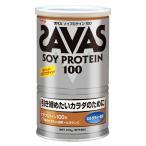 ザバス ソイプロテイン 100 ミルクティー風味 15食分 315g