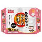 アイリスフーズ 低温製法米のおいしいごはん秋田県産あきたこまち角型 180X10
