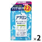 アクロン ナチュラルソープの香り 詰替え大サイズ 900ml 1セット(2個入) 衣料用洗剤 ライオン