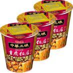 明星食品 中華三昧タテ型 重慶飯店 麻婆麺 3個