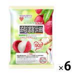 アウトレットマンナンライフ 蒟蒻畑ソルトinライチ味 1セット(12個入×6袋)