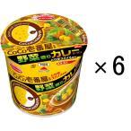 エースコック CoCo壱番屋監修ミニ 野菜盛りカレーラーメン 40g 6個