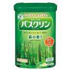 バスクリン 森の香り 600g お湯の色 ウッディグリーン(透明タイプ)