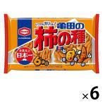亀田製菓 亀田の柿の種6袋詰 200g 1セット(6袋入)