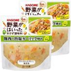 カゴメ 野菜がはいったおかず調味料豚肉の旨塩ガーリック炒め 2個