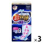 ナプキン 生理用品 特に多い日の夜用 羽つき ソフィ超熟睡ガード420 1セット(10枚×3個) ユニ・チャーム