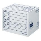 コクヨ 文書保存箱(カラー・フォルダー用) B4/A4用 白 40枚 書類収納 ダンボール B4A4-BX-W