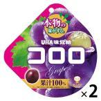 UHA味覚糖 コロロ グレープ 2袋
