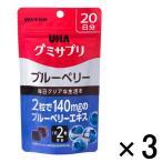 UHAグミサプリ ブルーベリー 1セット(20日分×3袋) UHA味覚糖 サプリメント