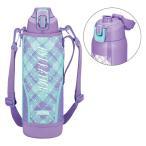 【アウトレット】サーモス(THERMOS) 水筒 真空断熱スポーツボトル 1500ml パープルチェック FHT-1500F PL-CH