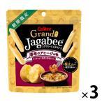 カルビー Grand Jagabee グラン じゃがビー  海老のアヒージョ味 1箱 12袋