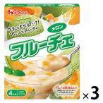 ハウス食品 フルーチェ メロン 200g 1セット(3個)