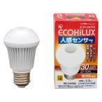 アイリスオーヤマ エコハイルクス LED電球 人感センサー付mini 電球色相当 325lm E26 LDA5L-H-S5