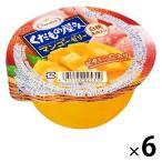 たらみ くだもの屋さん マンゴーゼリー白桃果肉入り 1セット(6個)