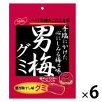 ノーベル 男梅グミ 38g 1セット(6袋)