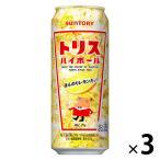 トリスハイボール 500ml×3缶 サントリー