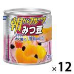 はごろもフーズ 朝からフルーツみつ豆 190g 12缶