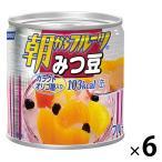 はごろもフーズ 朝からフルーツみつ豆 190g 6缶