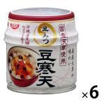 清水食品 伊豆産天草使用黒みつ豆寒天 230g 6缶