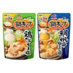 お買い得セット 味の素 鍋キューブ 人気2種お試しセット(鶏だしうま塩・鯛と帆立の極みだし) 鍋つゆ