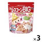 日清シスコ シスコーンBIG いちごミルク味 3袋 シリアル