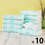 ティッシュペーパー 150組 エリエール i:na(イーナ) ソフトパックティシュー 1ケース(10パック) 大王製紙
