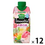 カゴメ 野菜生活100 Smoothie 川中島白桃&マンゴーMix 330ml 1箱(12本入)  野菜ジュース