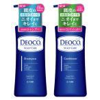 デオコ(DEOCO) スカルプケア シャンプー + コンディショナー ポンプセット 各350mL ロート製薬