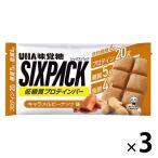 UHA味覚糖 SIXPACKプロテインバー キャラメル 3個
